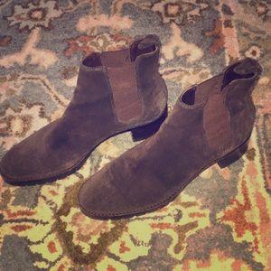 Ralph Lauren boots 8.5 women's booties